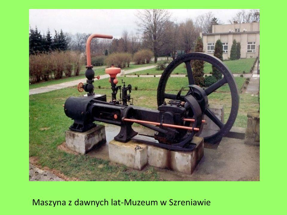 Maszyna z dawnych lat-Muzeum w Szreniawie