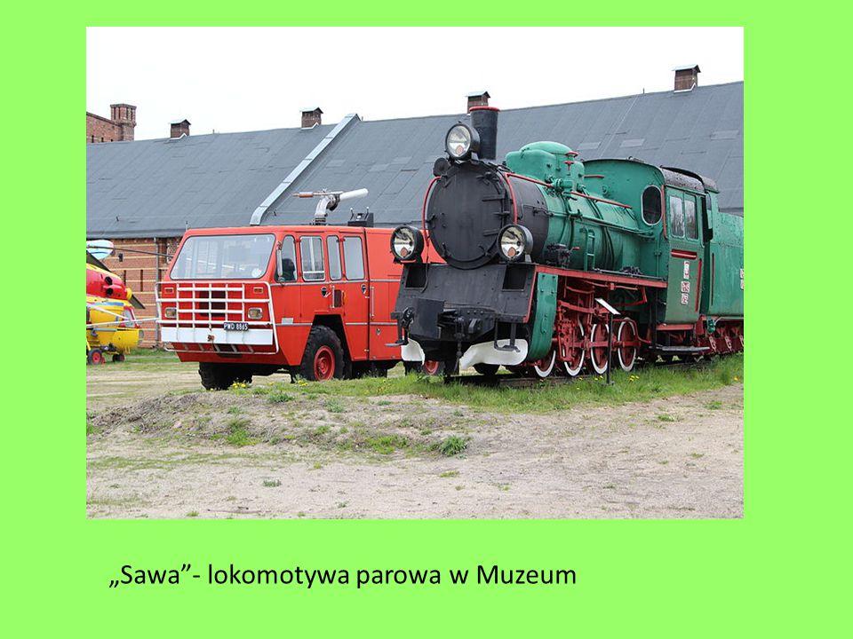 """""""Sawa - lokomotywa parowa w Muzeum"""