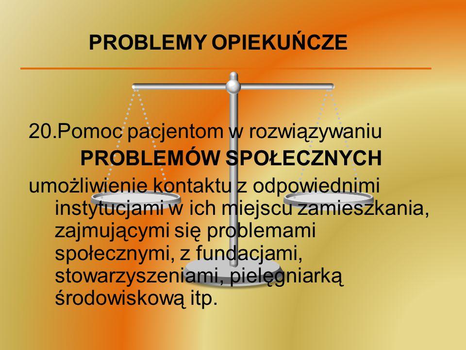 PROBLEMÓW SPOŁECZNYCH