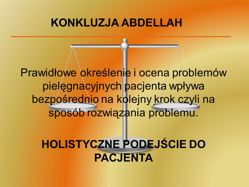 HOLISTYCZNE PODEJŚCIE DO PACJENTA
