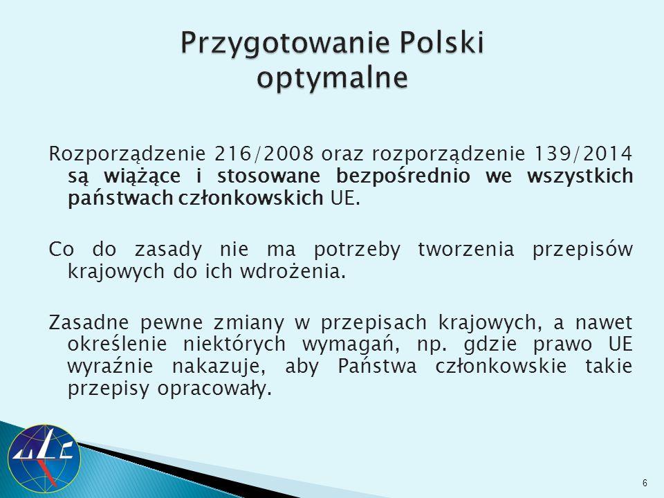 Przygotowanie Polski optymalne