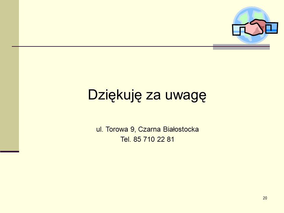 ul. Torowa 9, Czarna Białostocka
