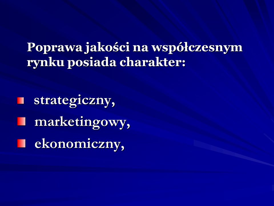 marketingowy, ekonomiczny,