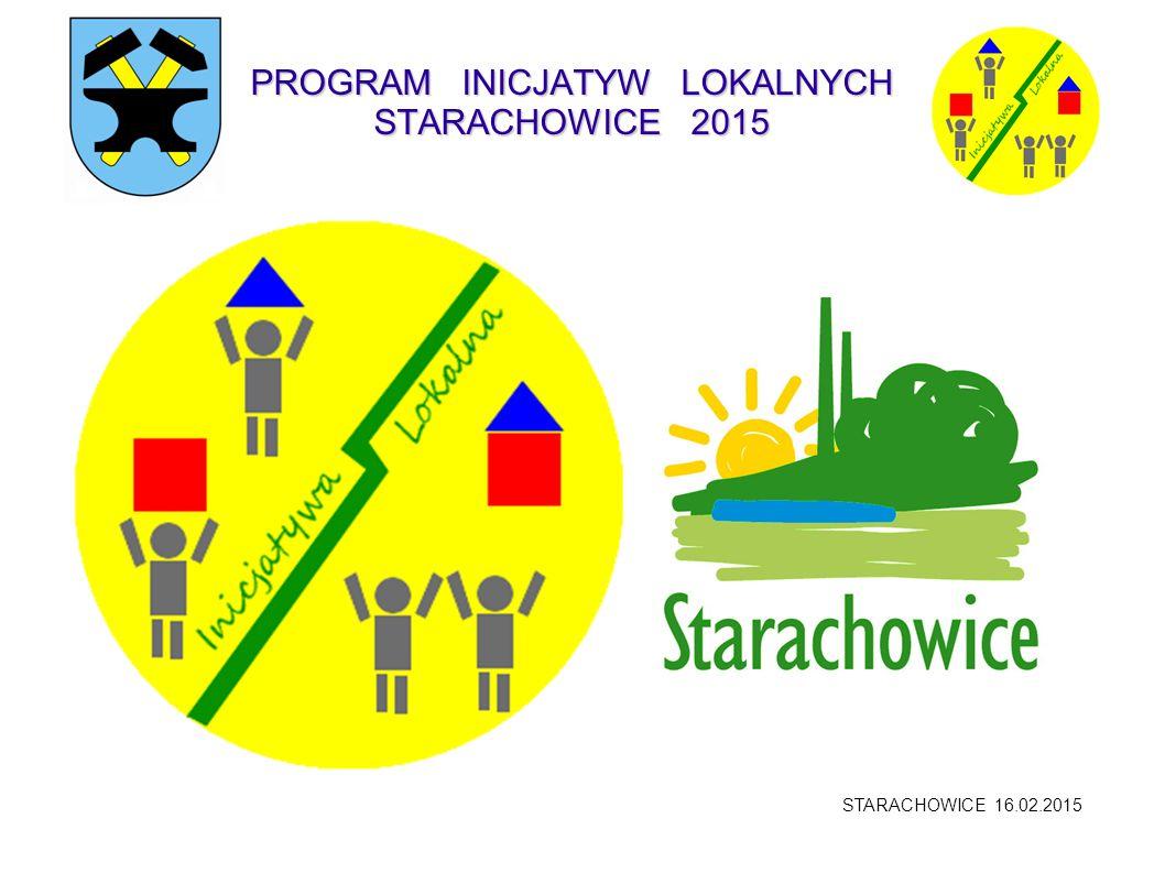 PROGRAM INICJATYW LOKALNYCH STARACHOWICE 2015
