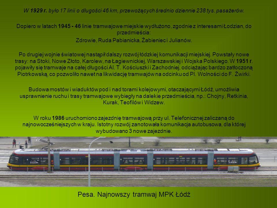 Pesa. Najnowszy tramwaj MPK Łódź