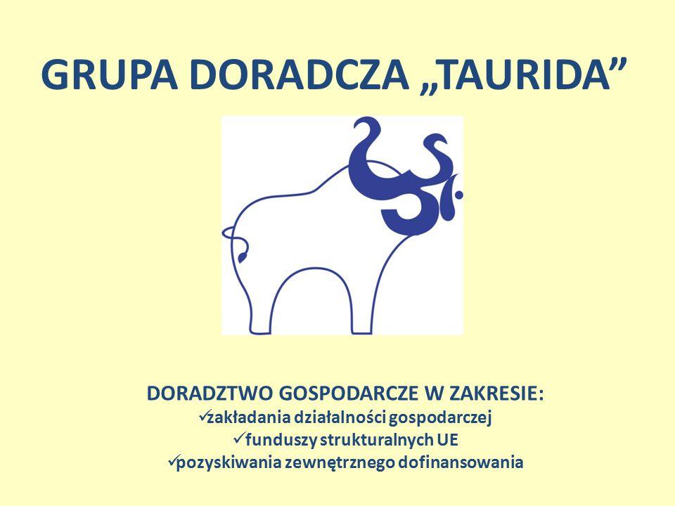 """GRUPA DORADCZA """"TAURIDA"""