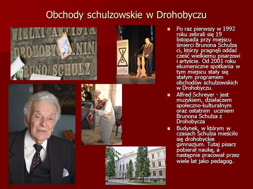 Obchody schulzowskie w Drohobyczu