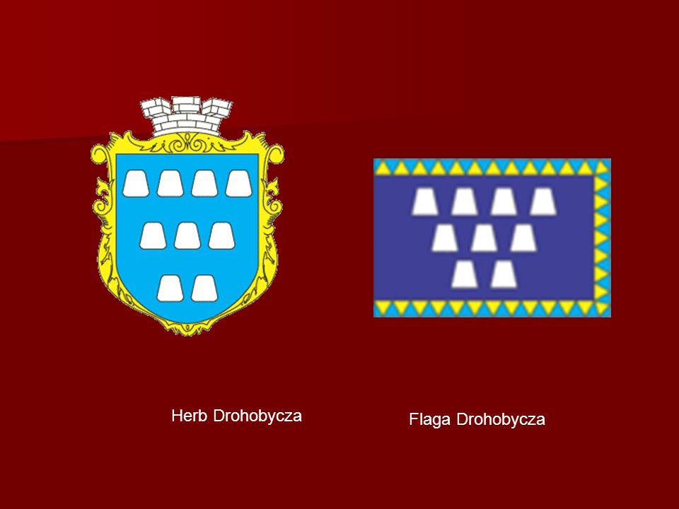 Herb Drohobycza Flaga Drohobycza