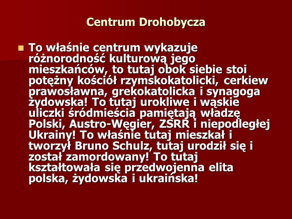 Centrum Drohobycza