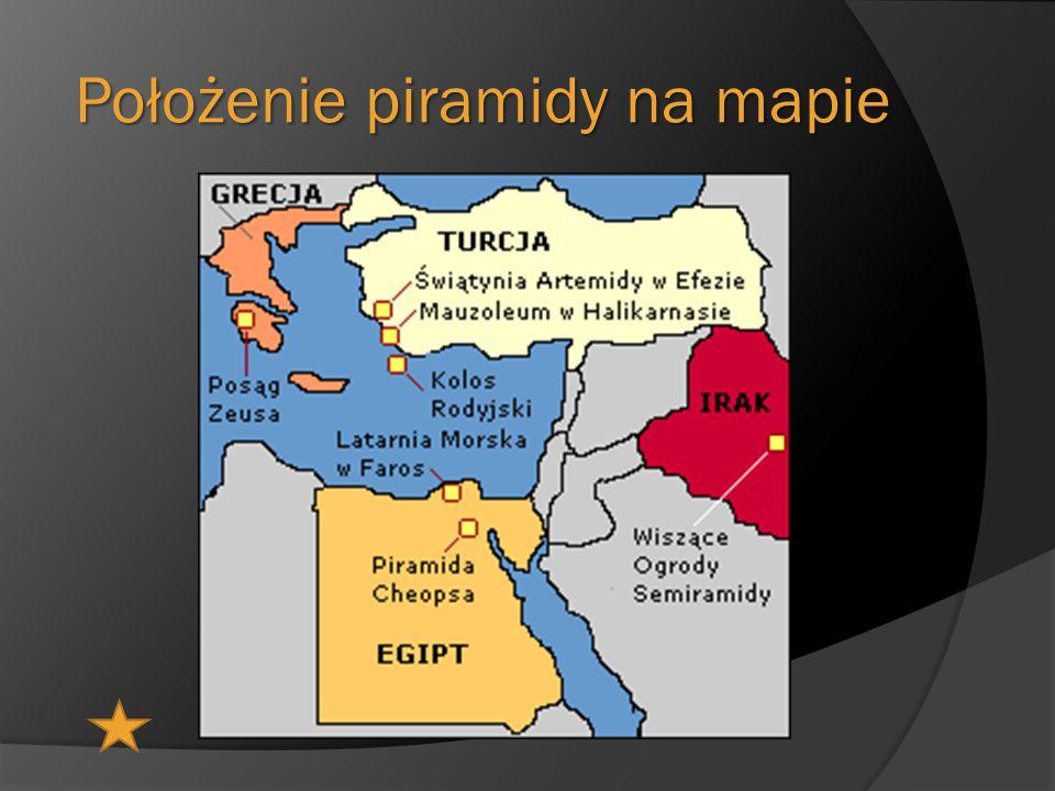 Położenie piramidy na mapie