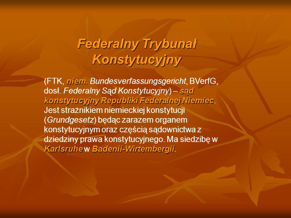 Federalny Trybunał Konstytucyjny