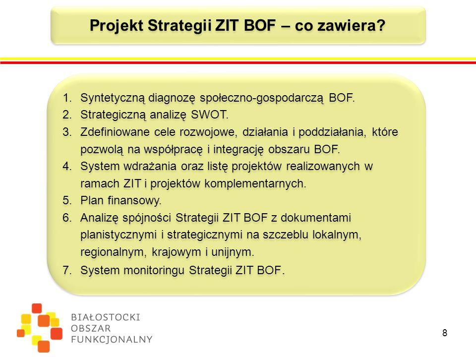 Projekt Strategii ZIT BOF – co zawiera