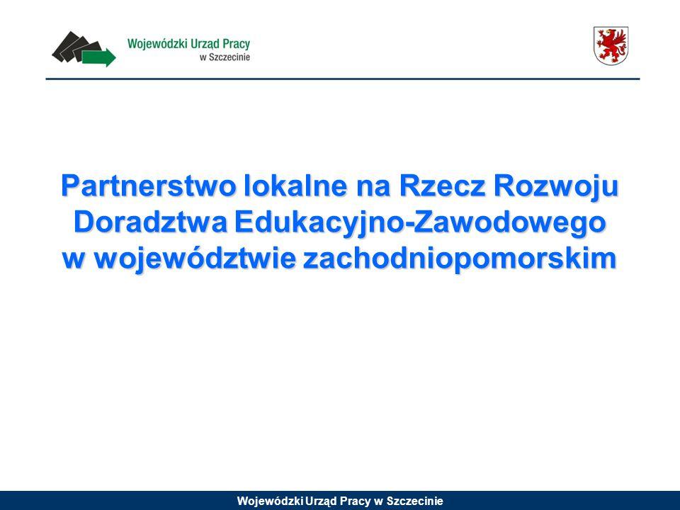Partnerstwo lokalne na Rzecz Rozwoju Doradztwa Edukacyjno-Zawodowego w województwie zachodniopomorskim
