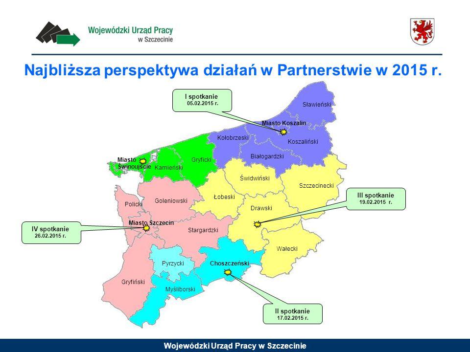 Najbliższa perspektywa działań w Partnerstwie w 2015 r.