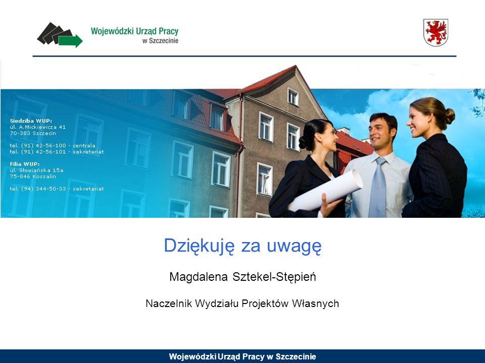 Dziękuję za uwagę Magdalena Sztekel-Stępień