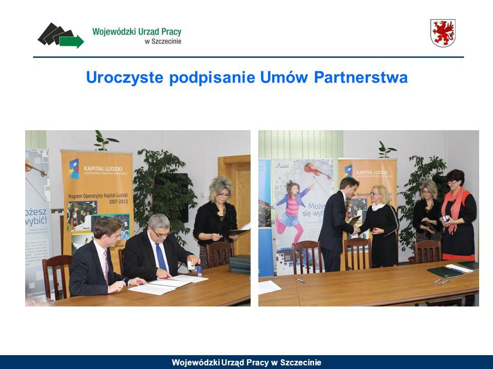 Uroczyste podpisanie Umów Partnerstwa