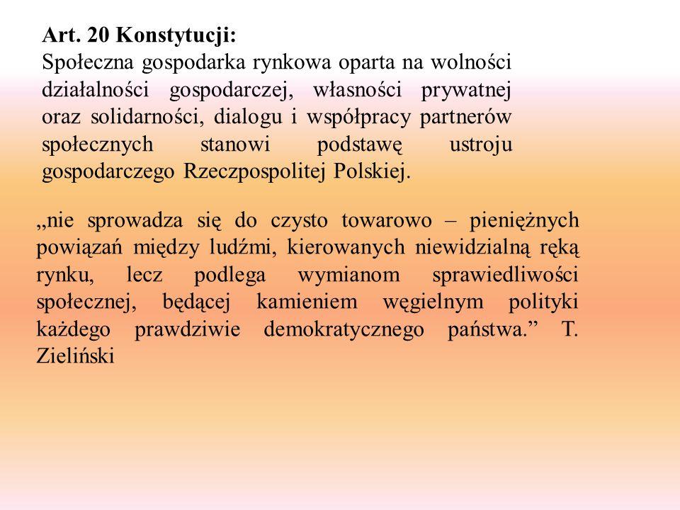 Art. 20 Konstytucji: