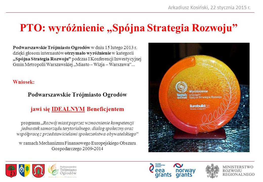 """PTO: wyróżnienie """"Spójna Strategia Rozwoju"""