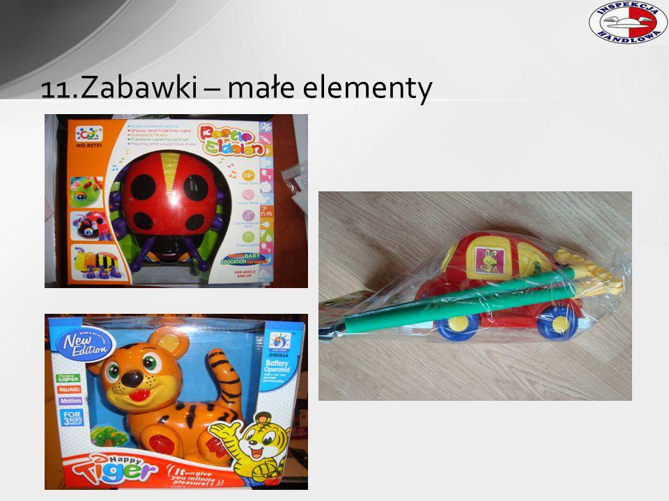 11.Zabawki – małe elementy