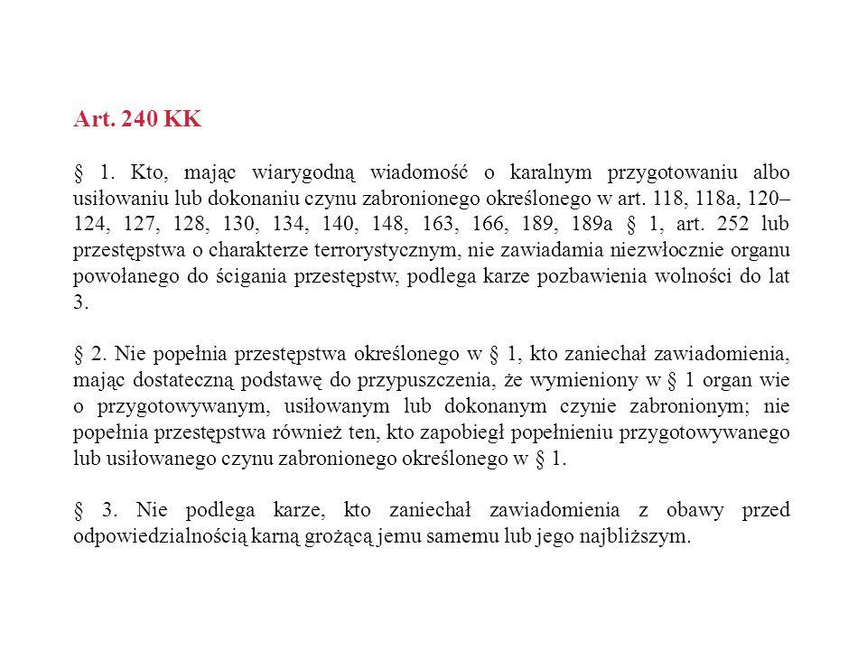 Art. 240 KK