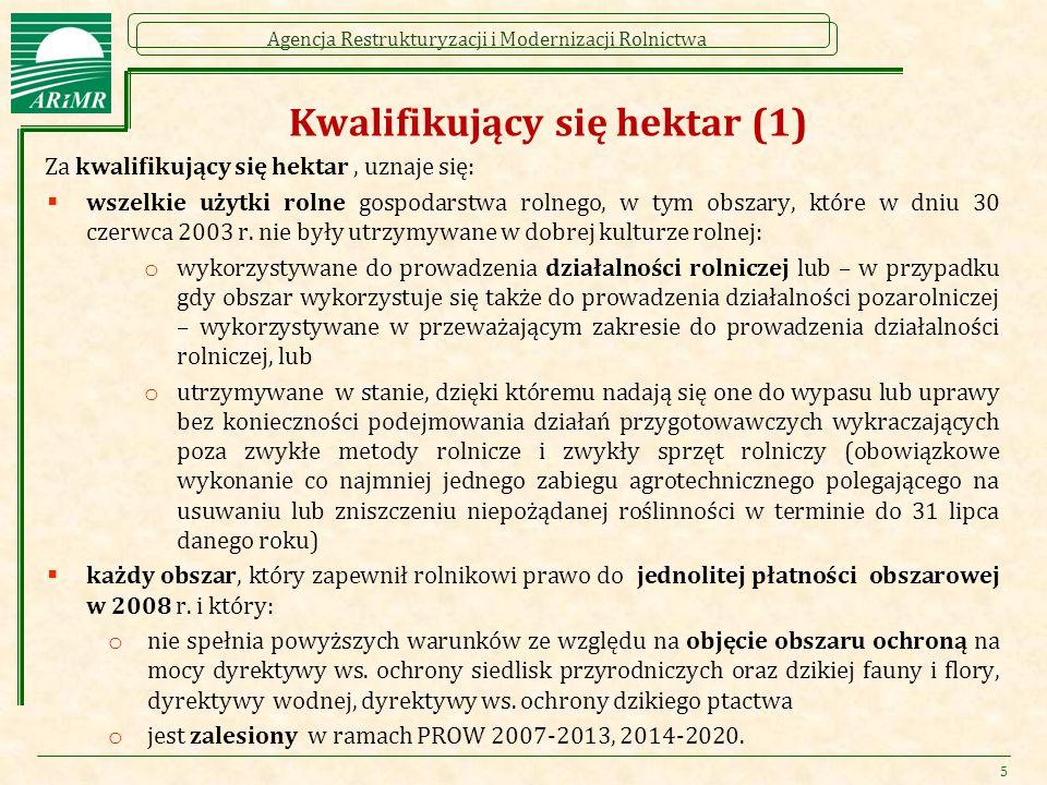 Kwalifikujący się hektar (1)