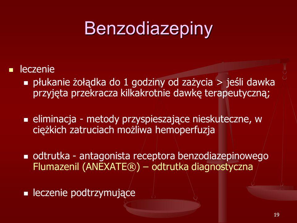 Benzodiazepiny leczenie