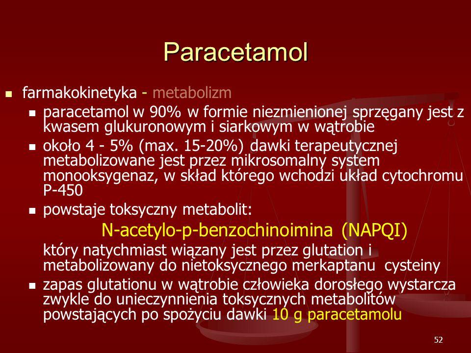 N-acetylo-p-benzochinoimina (NAPQI)