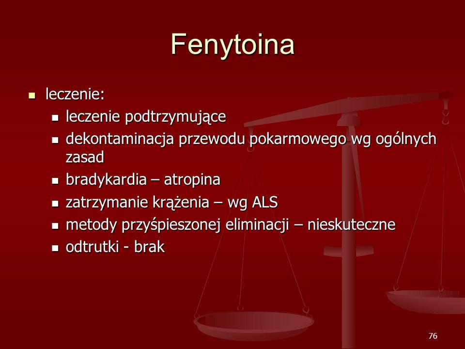 Fenytoina leczenie: leczenie podtrzymujące