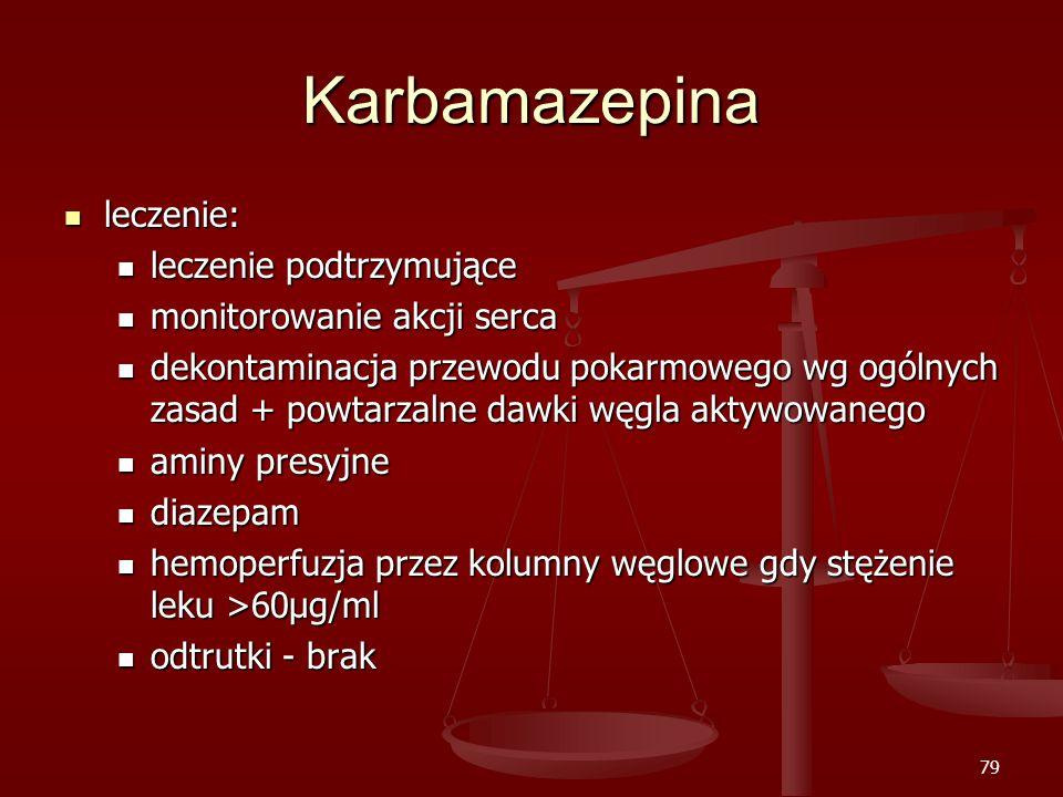 Karbamazepina leczenie: leczenie podtrzymujące