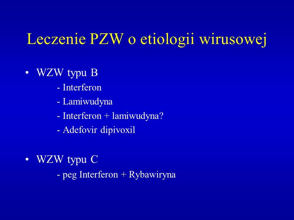 Leczenie PZW o etiologii wirusowej