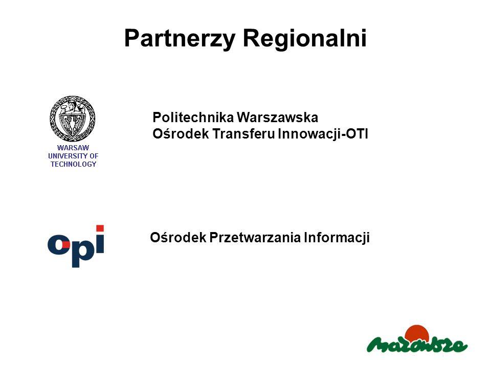 Partnerzy Regionalni Politechnika Warszawska