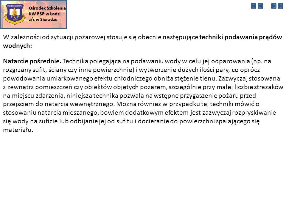Ośrodek Szkolenia KW PSP w Łodzi. z/s w Sieradzu.