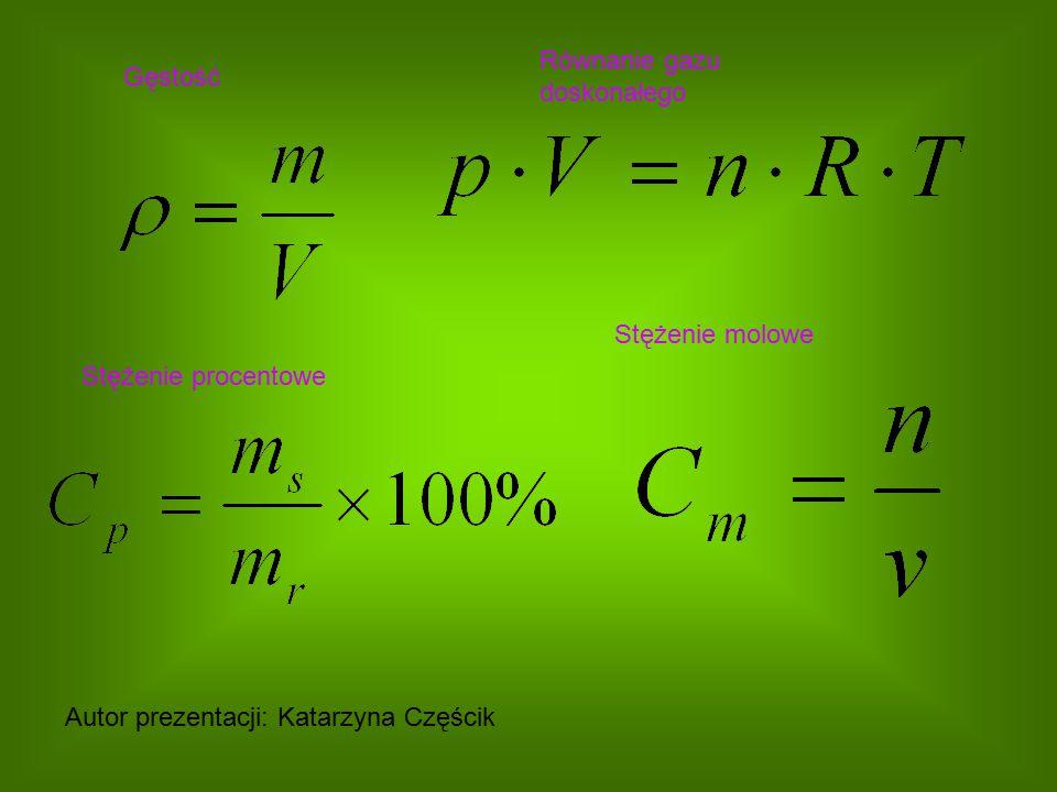 Równanie gazu doskonałego