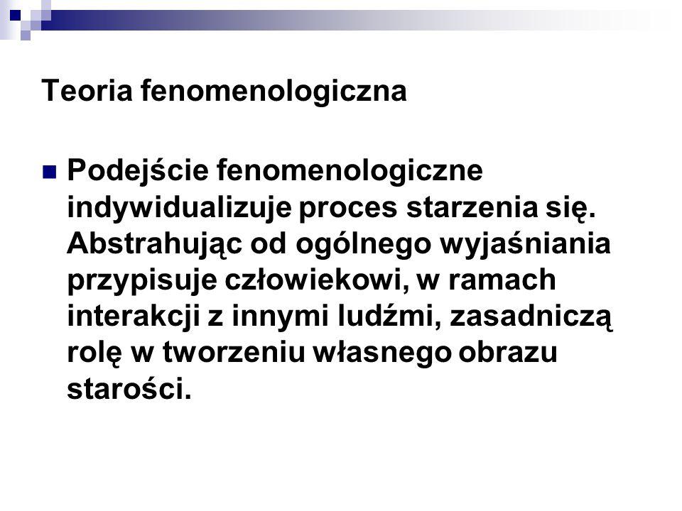 Teoria fenomenologiczna