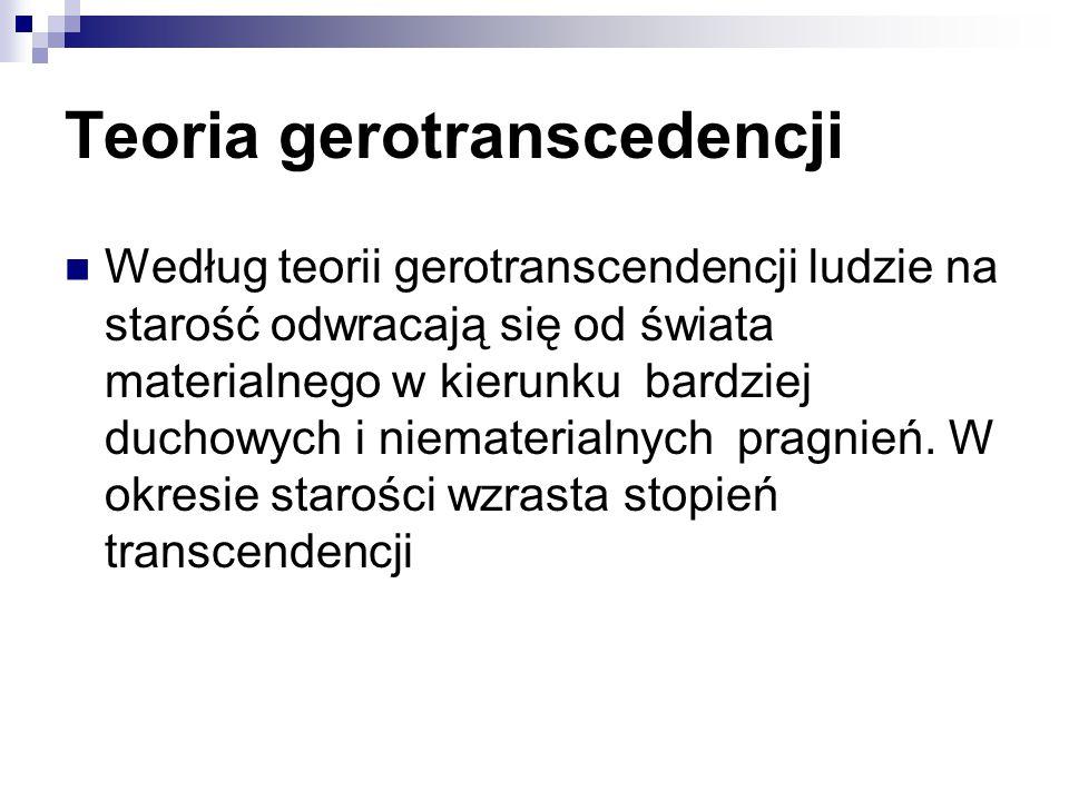 Teoria gerotranscedencji