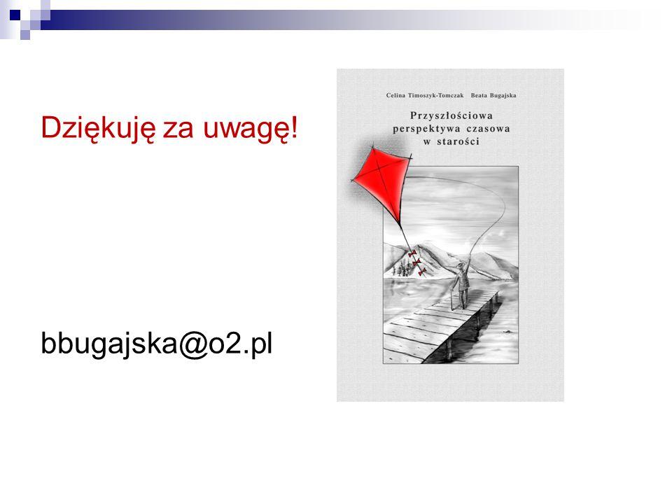 Dziękuję za uwagę! bbugajska@o2.pl