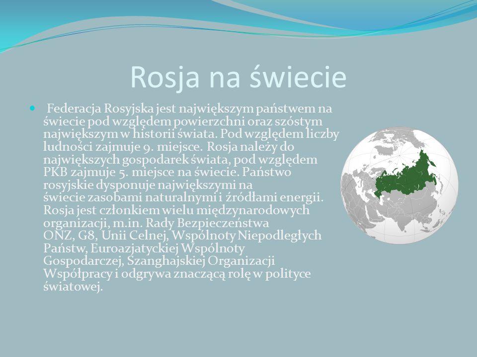 Rosja na świecie