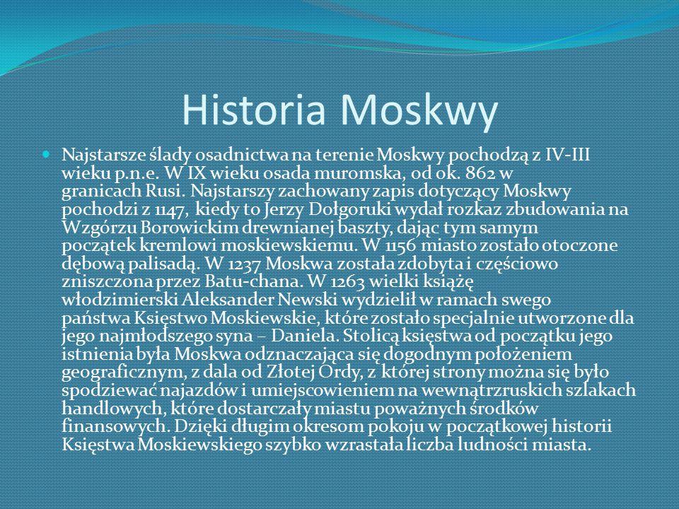 Historia Moskwy