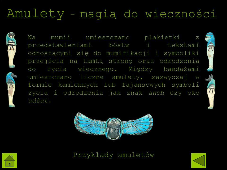 Amulety – magią do wieczności
