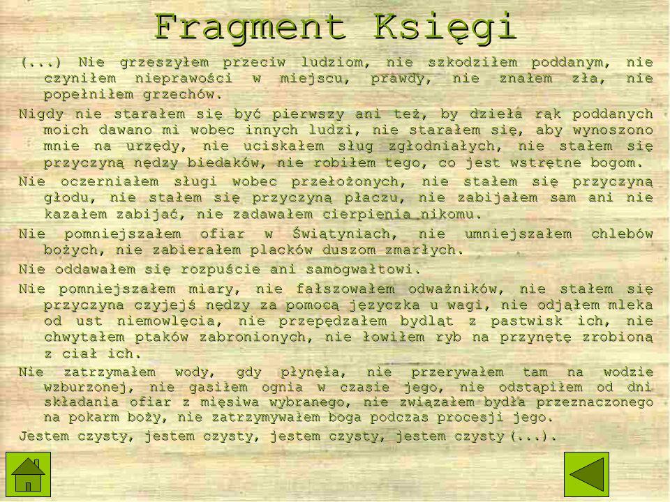 Fragment Księgi