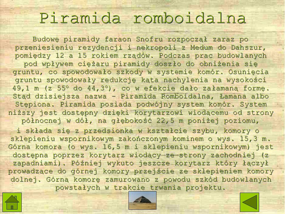 Piramida romboidalna