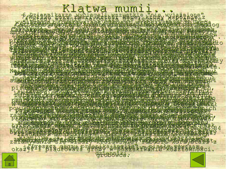 Klątwa mumii...