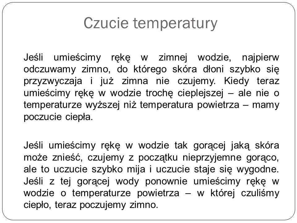 Czucie temperatury