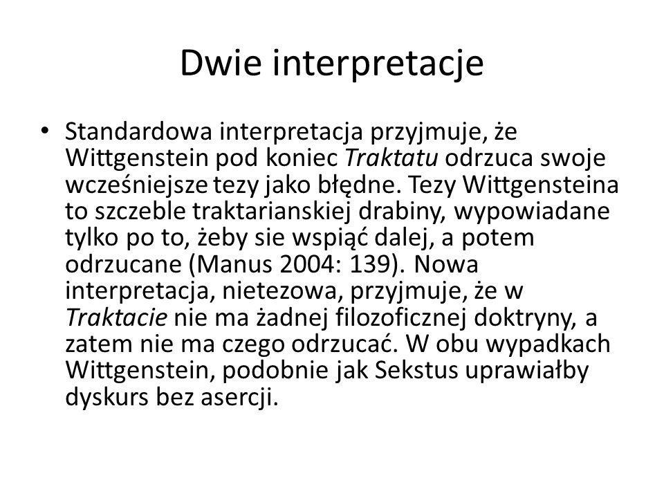 Dwie interpretacje