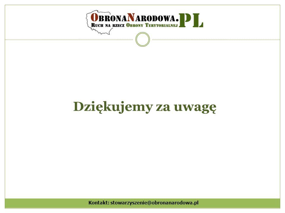 Kontakt: stowarzyszenie@obronanarodowa.pl