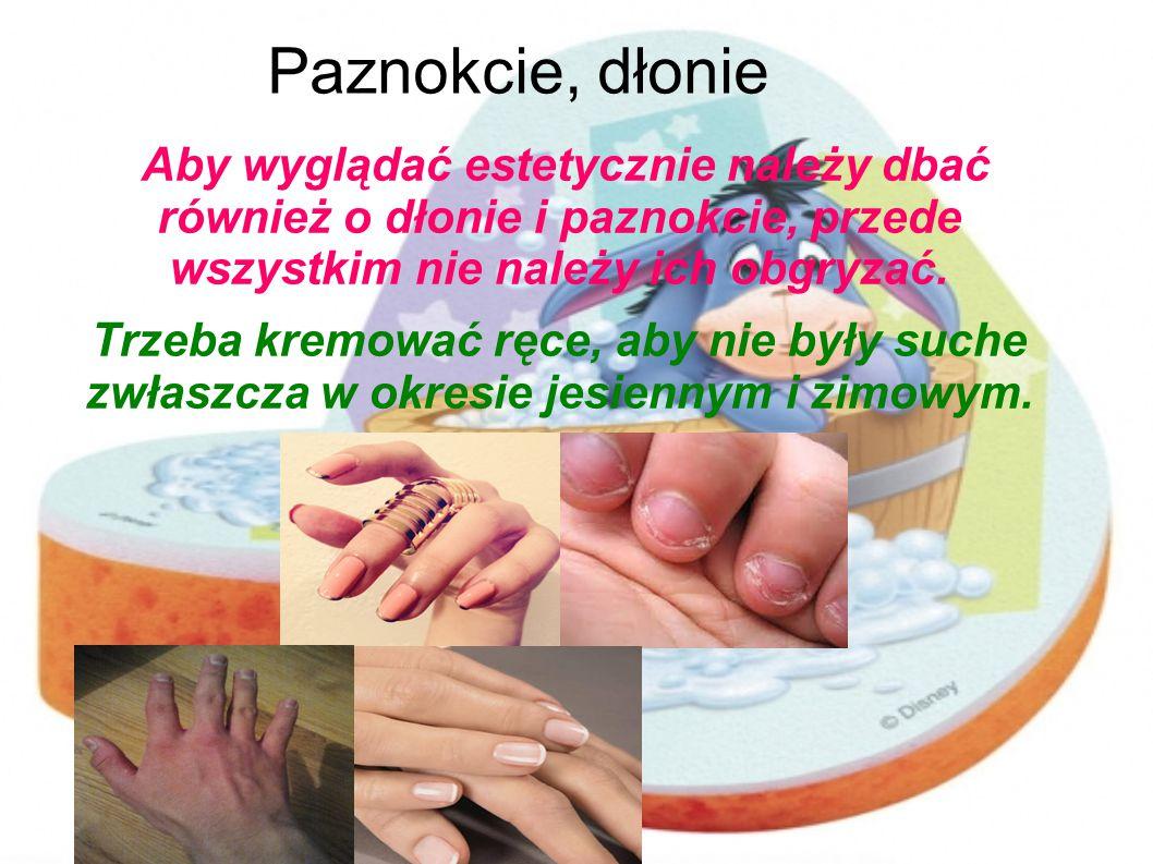 Paznokcie, dłonie