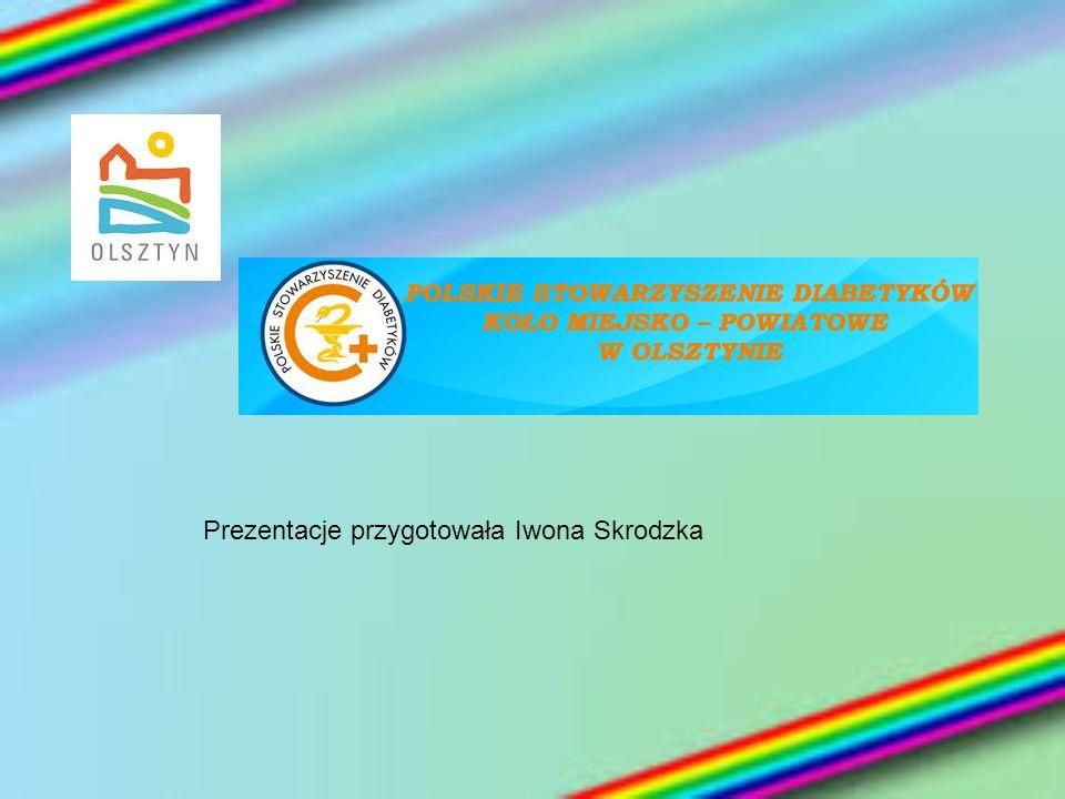 Prezentacje przygotowała Iwona Skrodzka