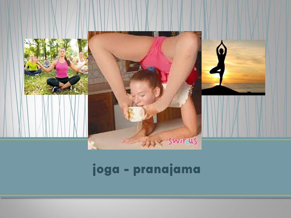 joga - pranajama