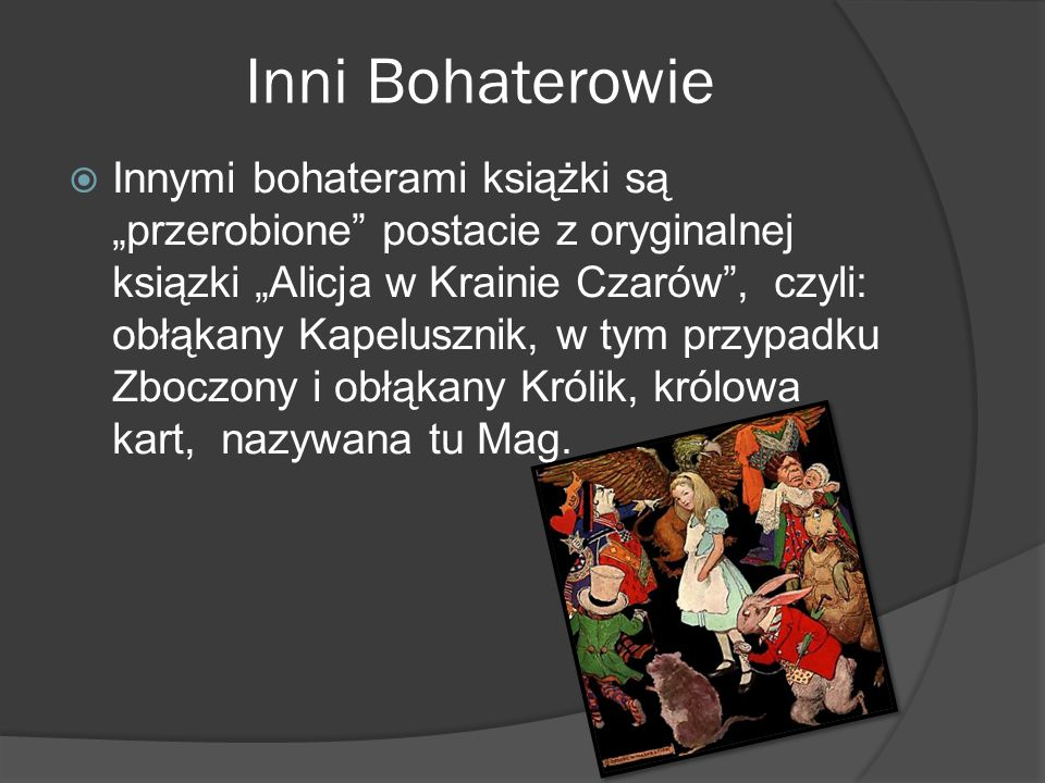 Inni Bohaterowie