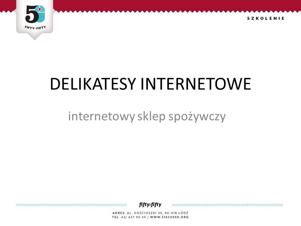 DELIKATESY INTERNETOWE